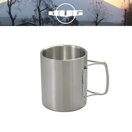 DUG(ダグ) ダブルウォールマグ DG-0502 アウトドア サバイバル キャンプ グッズ 保温 保冷 マグカップ ステンレス