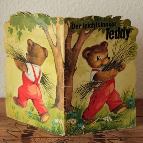 ドイツ テディベア(クマ)の絵本 Der leichtsinnige Teddy