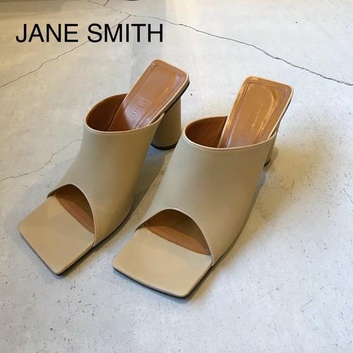 JANE SMITH/ジェーンスミス・SQUARE TOE SANDALS