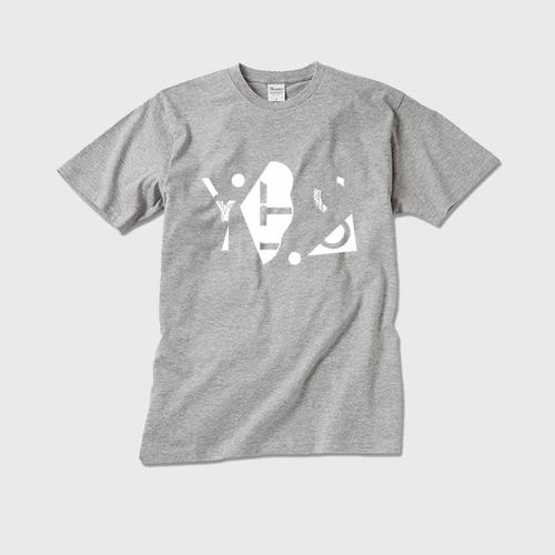 【メンズクルーネックTシャツ】YES