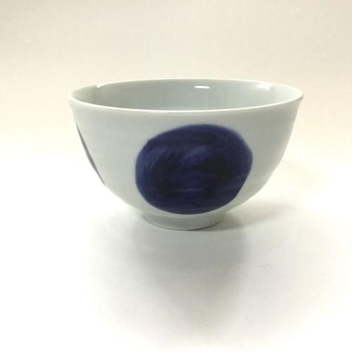 円丸紋深飯碗