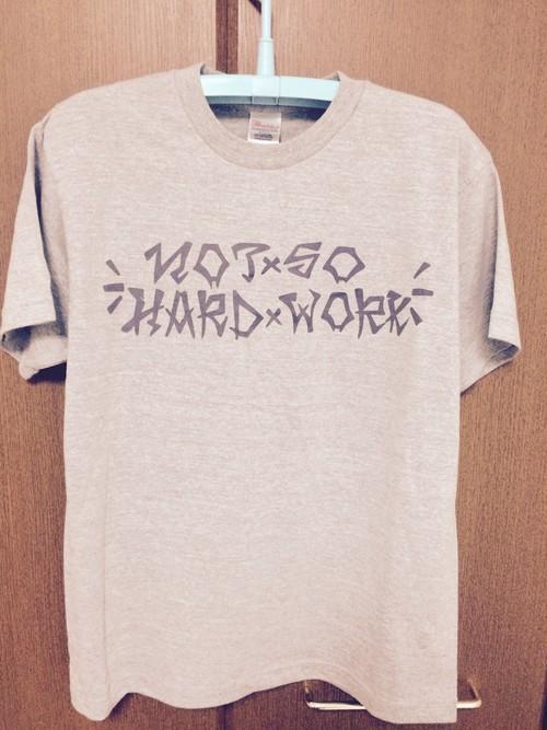 スラッシャーロゴTシャツ グレー