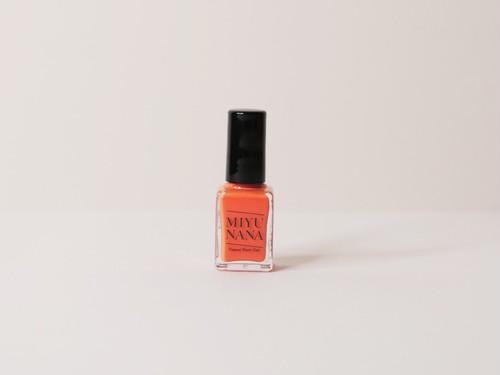 MIYUNANA 水性ネイル ガーベラオレンジ