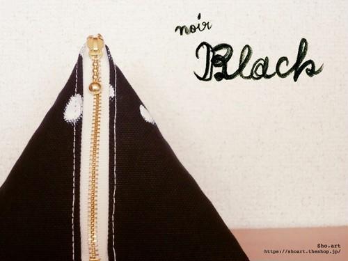 富士山と出かけよう!「富士山バッグ (小)  /  FUJI bag (small)」ブラック(全10色)