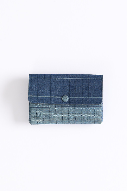 Card case / Y. & SONS×Aeta / 2Layer / 片貝染紅梅