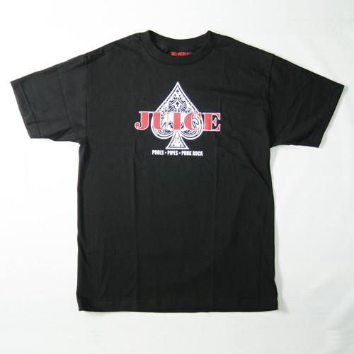 【JUICE MAGAZINE】ACE OF SPADES SHORT SLEEVE T-SHIRTS