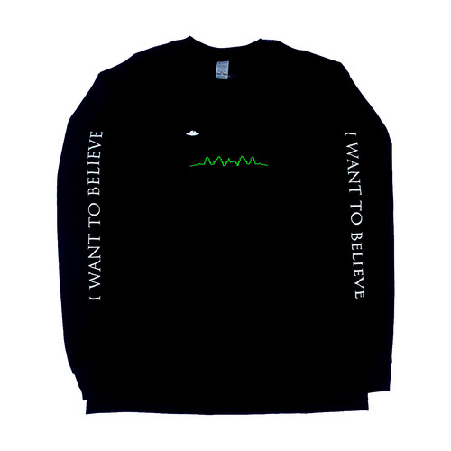 CHEAP TIME$ II want to believe L/S Tee -Black-