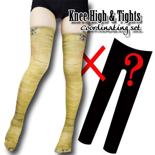 Set sales★<ファラオ包帯/Pharaoh bandage>Selectable knee high socks & Tights!