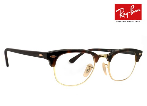 レイバン 眼鏡 メガネ rx5154 2372 49mm CLUBMASTER OPTICS クラブマスター ブロー タイプ サーモント 型 クラシック フレーム