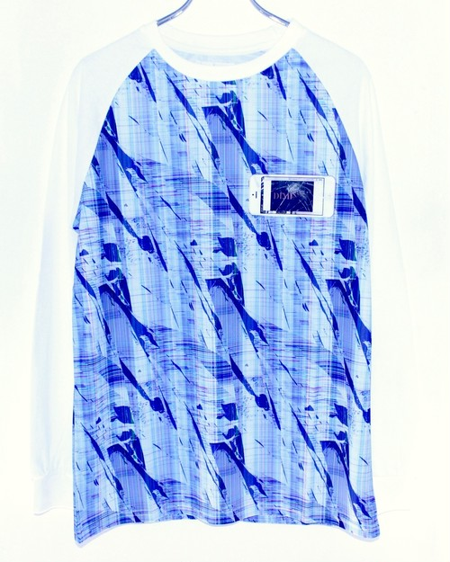 【DIMINISH】GLITCHED MEMORY LONG SLEEVE T