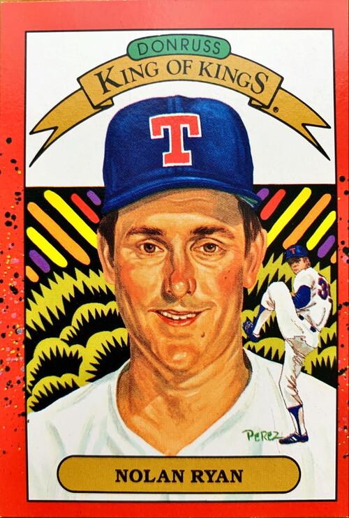 !!エラーカード MLBカード 90DONRUSS Nolan Ryan KING OF KINGS #665→#659 RANGERS