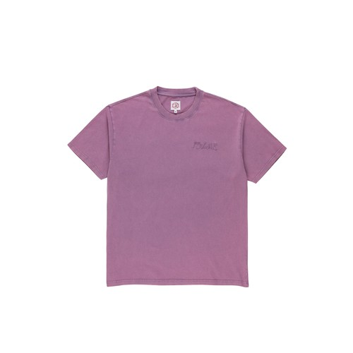POLAR SKATE CO. ELVIRA LOGO TEE PURPLE M
