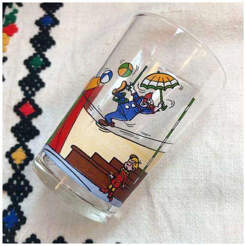 グラス コップ サーカス 1975 ヴィンテージ