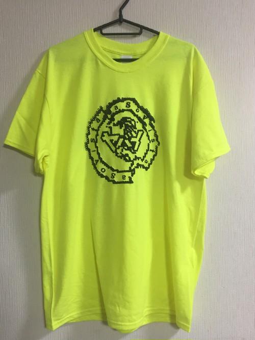 ヤバイTシャツ ネオンリングロゴ