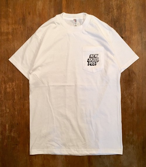 NEW SKOOL POST/POCKET TEE
