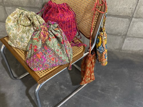 Indian quilting bag