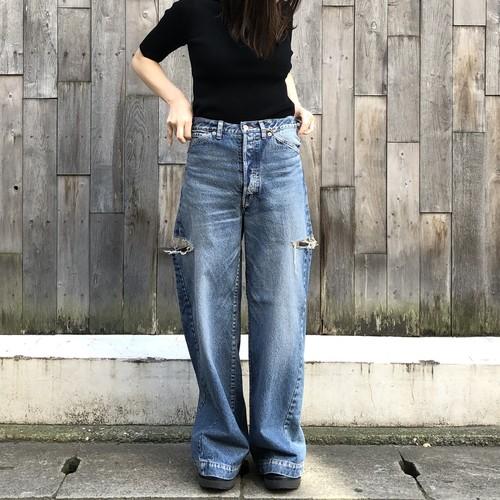 【20SS】INSCRIRE アンスクリア/ Damage Denim