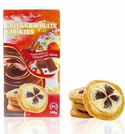 ギリシャチョコレートクッキー 100g