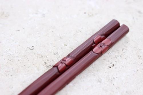 箸 / 紫陽花