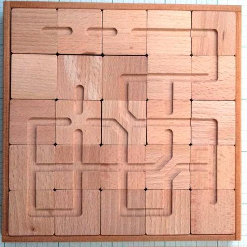 【ナジャラ25】(木製パズル)
