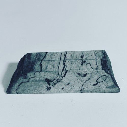 炭化紋様♪カードスタンド 高知産流木 作品No.CS3