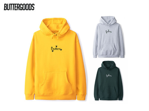 BUTTERGOODS|FLY CLASSIC LOGO PULLOVER HOODIE
