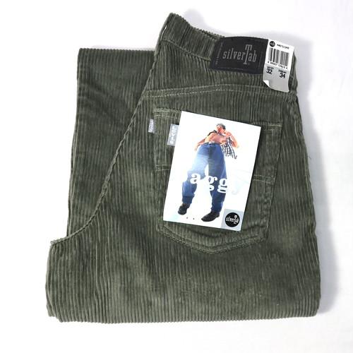 90's LEVI'S Silver Tab CorduroyPants (リーバイス シルバータブ ) baggy NOS