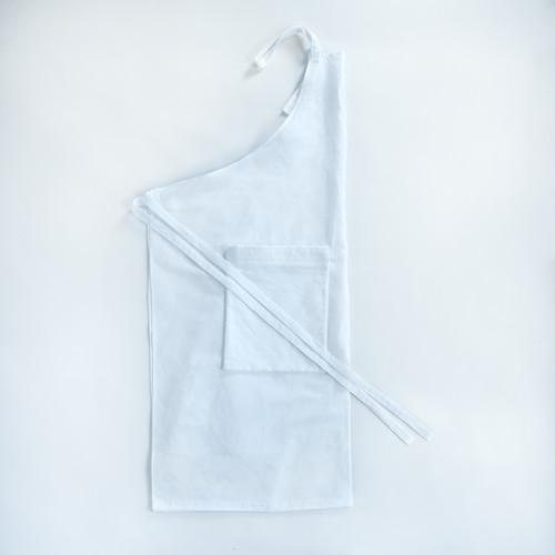 Packable Apron / NATURAL(cotton linen)