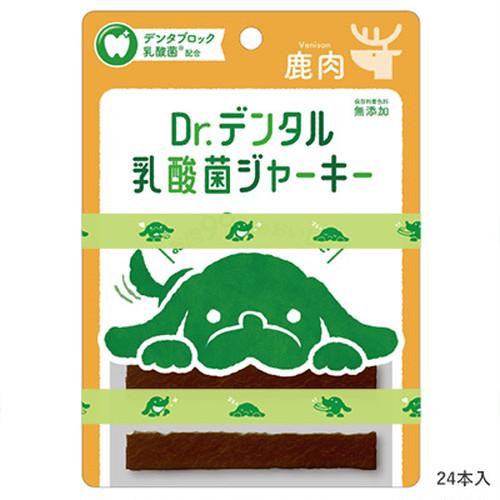 Dr.デンタル 乳酸菌ジャーキー 鹿肉 6本入り お口の健康維持をサポート