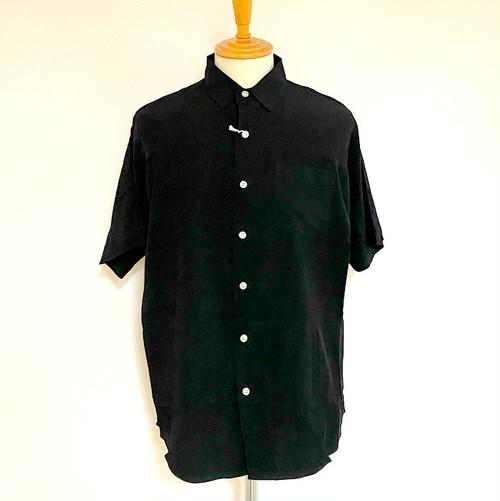 Bamboo Dolman Sleeve Switch Shirts Black