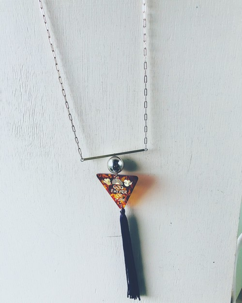 ~6/30 Limited edition:Brass-stick Long necklace