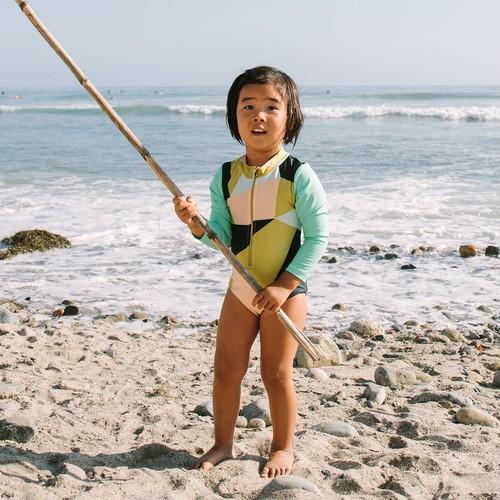 【mini seea】Sandpiper bodysuit - Sanji