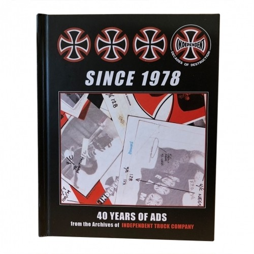 INDEPENDENT 40 YEARS OF ADS BOOK