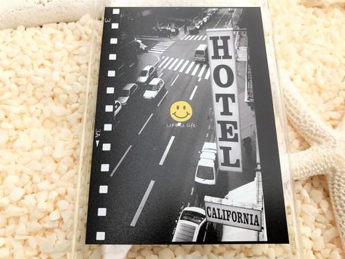 LIFE is life CALIFORNIA HOTELスマホクリアケース iPhone5~8用 送料無料!