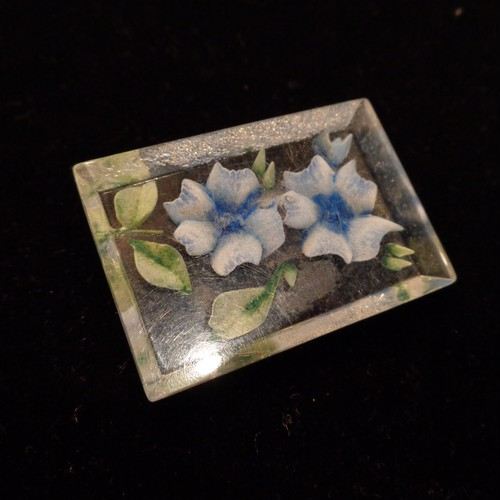 Vintage lucite brooch ヴィンテージルーサイトブローチ