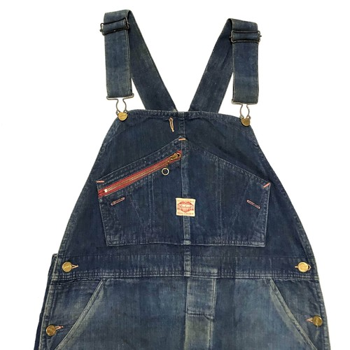 30's Carhartt DENIM Overall with TALON ZIPPER