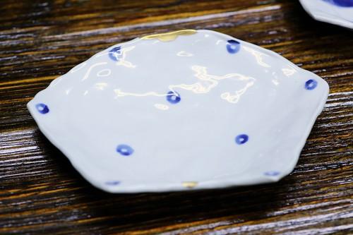 松尾貞一郎 扇型皿 181219K-7 貞土窯(有田焼)