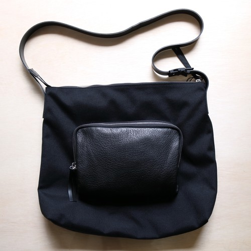 "VAINL ARCHIVE ""pack shoulder-c"" BLACK"