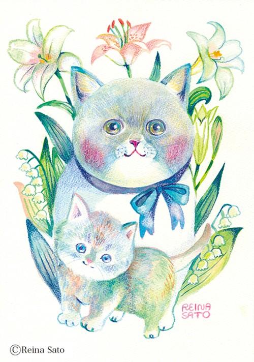 猫〔原画〕