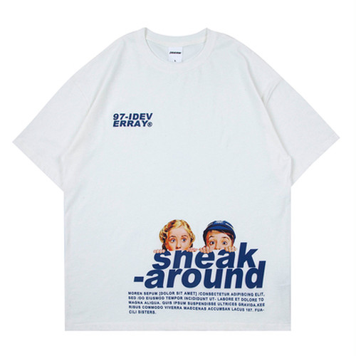 ★UNISEX sneak aroundTシャツ(White,Mint,Black) 60