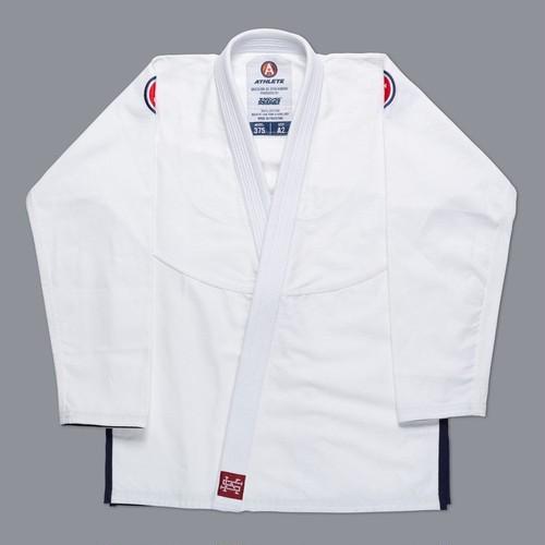SCRAMBLE ATHLETE 4:375(ホワイト、白)|ブラジリアン柔術衣