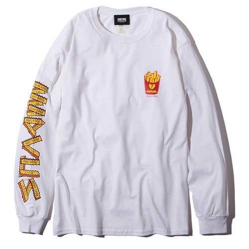 Deviluse(デビルユース) | Fries L/S T-shirts(White)