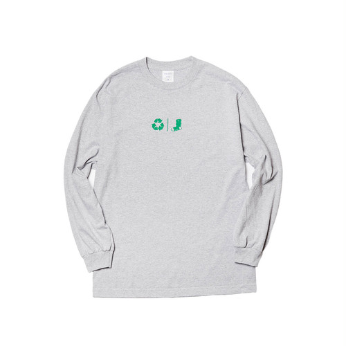 WHIMSY - FLESH DELIVERY L/S TEE (Heather Grey)