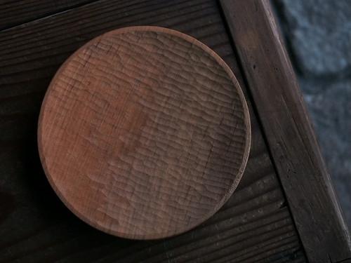 木工 高室久志 6寸丸皿
