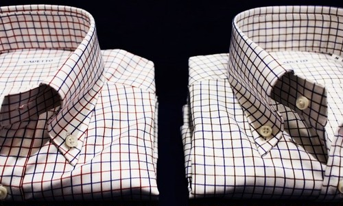 CADETTO ORIGINALS SHIRTS Tattersall Button-down