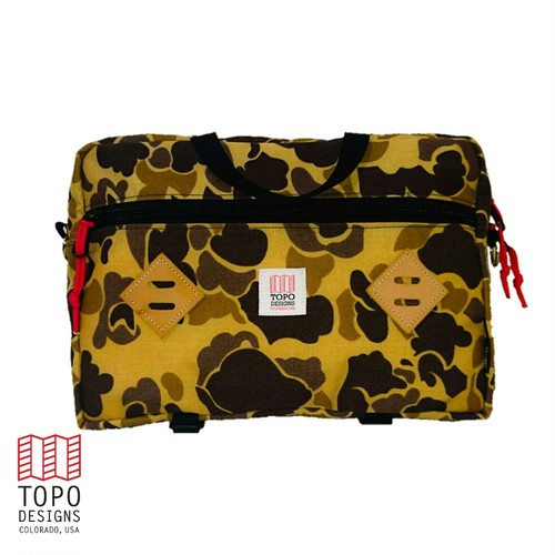 "TOPO DESIGNS ""MOUNTAIN BRIEFCASE "" DUCKCAMO"