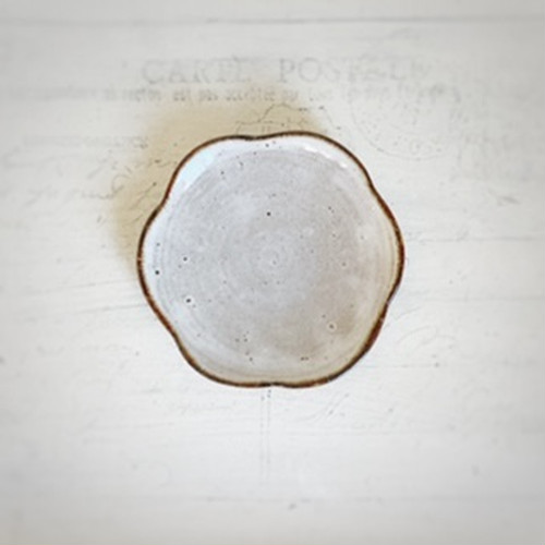 輪花の小皿