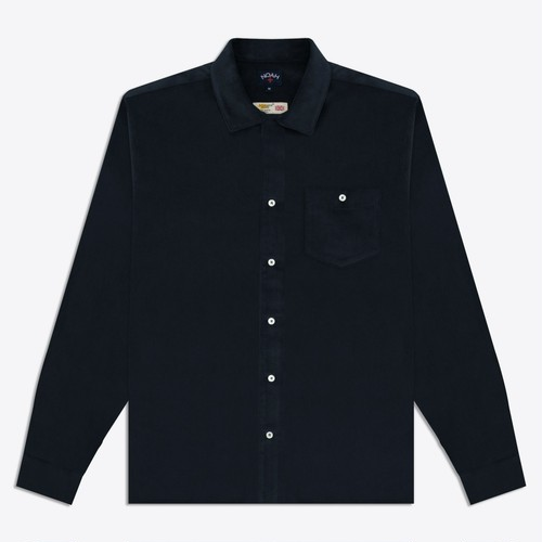 Corduroy Shirt(Navy)