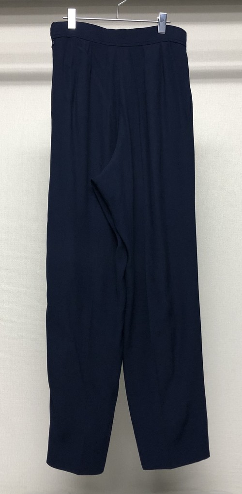 1990s YVES SAINT LAURENT WIDE LEG TROUSERS
