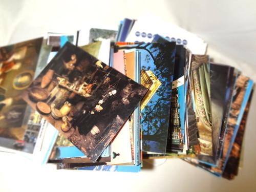 【海外土産】ポストカードセット(10枚)◆送料無料